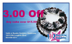 Download this coupon and get $3.00 off any cake over $15!